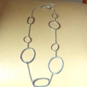 Jewelry - Fashion jewelry silver adjustable necklace